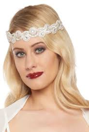 Gatsby Hair Style 1920s style flapper headbands headdresses wigs 8872 by stevesalt.us