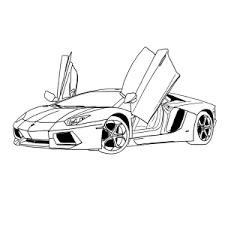 Lamborghini Kleurplaat
