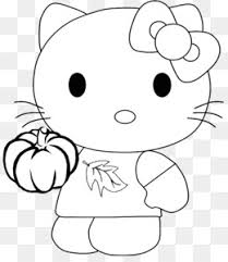 Free Download Hello Kitty Coloring Book Drawing Kleurplaat Child