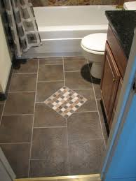 ... Inspiring Bathroom Floor Tile Ideas For Small Bathrooms and Appealing Small  Bathroom Flooring Options Bathroom Floor ...