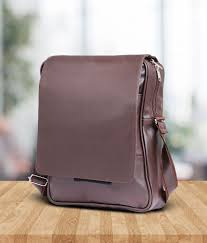 56 tuscany brown premium p u leather laptop office bag