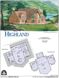 the original log cabin homes home kits construction house plans with basement highland floor