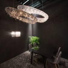 contemporary chandelier crystal halogen handmade artica