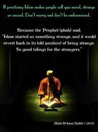islaam a strange relegion for the strangers prophet muhammad  islaam a strange relegion for the strangers prophet muhammad
