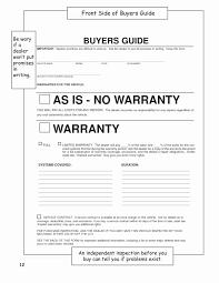 Car Bill Of Sale Pdf Vehicle Bill Of Sale No Warranty Template Beautiful Used Car Bill