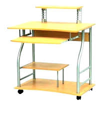 desk wheels office desk with wheels table on small terrific computer for spaces desk wheels office desk on