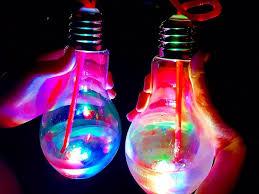 glow in the dark lighting. Glow In The Dark Light Bulb Instagram Food Trend Lighting