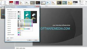How To Make Custom Themes In Microsoft Powerpoint 2010 Tutorial