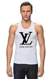 <b>Майка классическая</b> LOUIS VUITTON #350677 по цене 730 руб. в ...