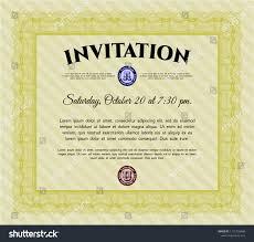 corporate event invitation template formal party invitation template free event card word sample