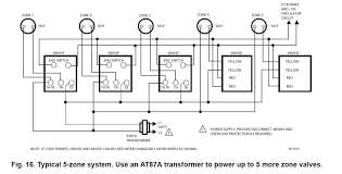 wiring diagram for a typical 3zone honeywell zone valves at87a circuit diagram zone valve wiring diagram wiring diagram for a typical 3zone honeywell zone valves at87a