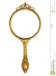 gold hand held mirror. royalty-free stock photo. download vintage hand mirror gold held g