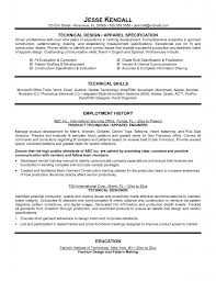 Technical Sales Resume Examples Tag Fashion Design Resume Templates Fashion Industry Resume