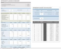 Excel Retirement Calculator Spreadsheet Free Financial Planning Templates Smartsheet