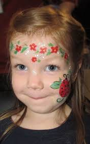ladybug face paint ideas pin jj on easter face painting ideas ladybug face funny