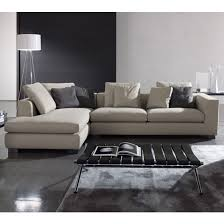 Modern Leather Sectionals In Miami divani casa citadel modern grey