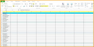 Excel Workout Spreadsheet Training Budget Spreadsheet Excel Workout