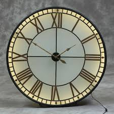 projects idea wall clocks large big ben clock westminster lights up