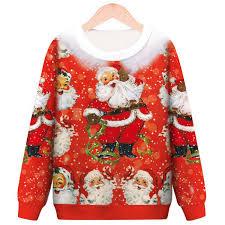 Men Cool Hoodie 3D <b>Christmas Santa</b> Claus <b>Print</b> Sweatshirt Jacket ...