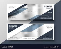 Business Banner Design Two Corporate Professional Business Banners Design