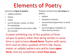 poems form scanning poems ppt
