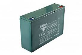Купить <b>Тяговый гелевый аккумулятор RuTrike</b> 6-EVF-32 для ...