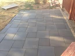 Inexpensive Paver Patio Designs Patio Of Inexpensive Concrete Pavers Inexpensive Patio