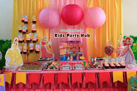Belle Birthday Decorations 100 Gorgeous Disney Princess Birthday Party Ideas Table 98