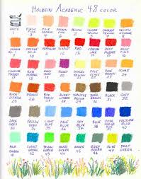 Oil Pastel Color Charts Page 12 Wetcanvas