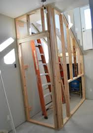 Building a Closet Under the Stairs