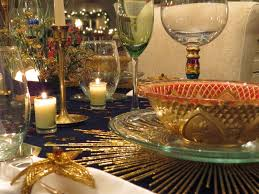Christmas Tables Settings - My holiday tables