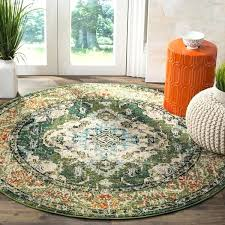 blue and green round rug bohemian forest green light blue rug round blue green rug runner blue and green round rug