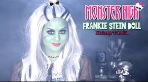get ations monster high frankie stein makeup tutorial with charismastar l christen dominique