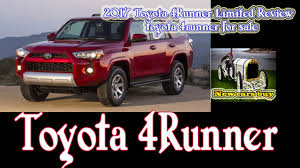 2017 Toyota 4Runner Limited Review - toyota 4runner for sale - New ...