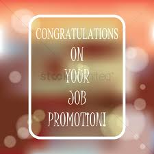 Congrats On Your Promotion Congratulations On Your Job Promotion Vector Image 1827332