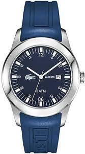 men s blue lacoste advantage sports watch 2010672