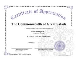 free open office templates certificate of appreciation openoffice template