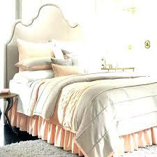 peach colored comforter sets tan bedding set and gray crib regarding grey plan baby comforters bed