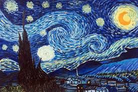 stary night painting vincent van gogh starry night hand painted oil painting on canvas pictures