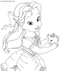 Small Picture Printable 47 Beauty And The Beast Coloring Pages 1702 Free