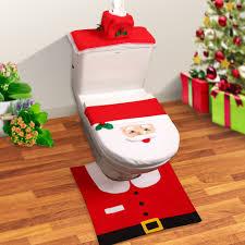 christmas bathroom sets