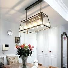 edison bulb chandelier modern filament chandelier bulb glass box living room pendant lamp blue pendant lights