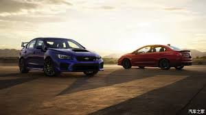new car launches in early 2014North American auto show starting new WRX  WRX STI official map