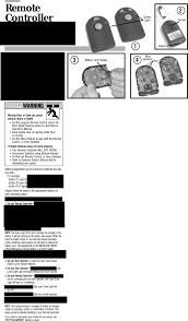 Genie Garage Door Light Not Working Acsct1 Garage Door Opener Transmitter User Manual 2 Page 1