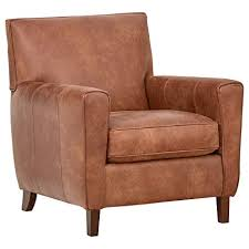 Modern leather armchair Ottoman Image Unavailable Amazoncom Amazoncom Rivet Lawson Modern Angled Leather Chair 33