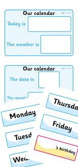 Twinkl Resources Weather Calendar Thousands Of