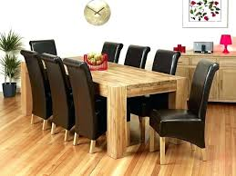 wood dining table 8 chairs round dining room tables for 8 brilliant 8 chair dining table