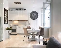 spherical lighting. contemporary lighting decorationsunique spherical lighting fixture idea above pretty dining set  of a white kitchen tips intended