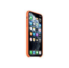Apple iPhone 11 Pro Max Silicone Case - Orange | Auf Lager