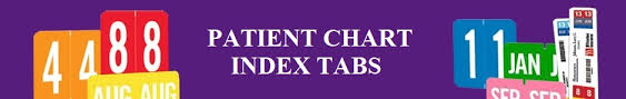 Patient Chart Tabs Patient Chart Index Tabs Filingsupplies Com